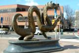 Mario the Dragon, Drexel University, Philadelphia