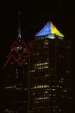 One Liberty Place and Mellon Bank Center Philadelphia