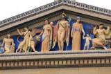 Philadelphia - The gods of art