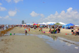 East Beach - end of Galveston Island