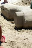 Heels in the sand, Galveston, TX