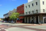 The Strand - Historic downtown, Galveston, TX