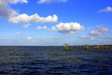 The gulf from Kemah