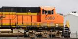 BNSF 5898 SB at Denver w/ TGNX Bethgon Coalporters