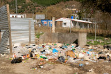 Rubbish tip in Bagh