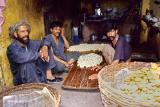 Making Kulche in Muzaffarabad