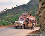 Kotli bus heading to Mirpur near Rajdhani