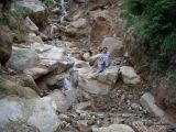 Aman Shaqeel on holiday waterfall