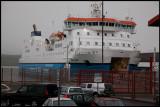 Arriving in Lerwick harbour