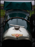 Old Bentley parked outside Sumburgh