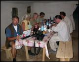 Looking through files in the evening. Kazakhstan in june 2006. Photographer Anders Blomdahl.