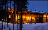 Genuine finnish loghouse noth of Pudasjärvi