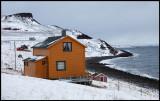 Driving east along northern Varanger coast