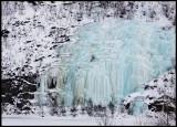 Icefall near Utsjoki
