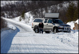 Very slippery roads along Tana River (border between Norway & Finland)