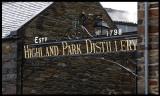 Entrance at Highland Park Distillery (Orkney)