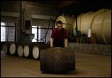 Newly filled barrels at Glenfarclas distillery