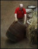 Worker at Speyside Cooperage