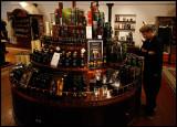 Martin in Glenfiddich shop