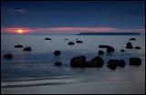 Sunset near Lilla Karlsö island - Gotlandw