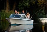 Evening fishing in Huseby
