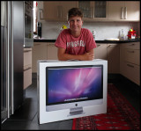 A new era in our house.....a new iMAC has arrived