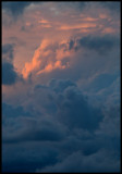 Evening sky after heavy rains - seen from the roof of my house