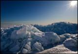 Icewalls outside Kuggören - Hudiksvall
