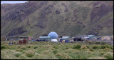 The research station at Macquarie island
