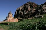 The old church in Noravank