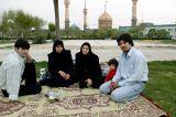 Khomeini grave monument - a popular picknick spot