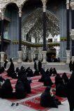 Womens part of Hazrat-E-Masumeh mosque in Qom