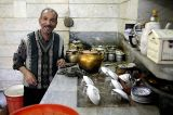 Making tea in Qom
