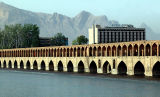Khaju (1660 AD ) - One of the famous bridges in Esfahan
