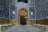 Big door at Emam mosque in Esfahan