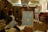 Buying carpets in Iran