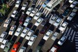 Teheran traffic - a pedestrians nightmare!
