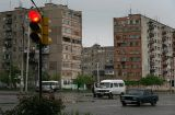 Rustavi, a small town southeast of Tbilisi