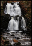 Forsakar in February - Tallest waterfall in Scania