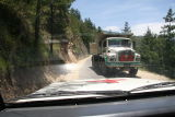 The drive to Thimphu