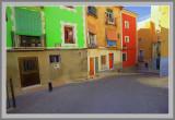 colored walls of Villajoyosa