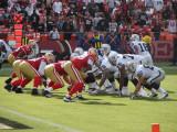 Raiders at 49ers - 08/22/09