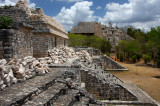 Mayan ruins of Ek Balam and Colorful town of Valladolid