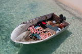 Bahamian Shell Hunter's Boat