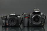 K-5 vs D700 Size Comparison
