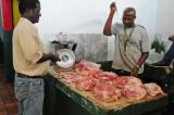 14 1015 Butchering pig for customer
