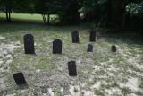 Bog iron tombstones