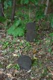 Bog iron tombstone