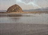 Morro Rock From Audubon Overlook