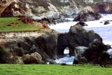 Crashing Waves on Coast